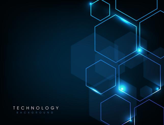 Abstrakt teknologibakgrund vektor