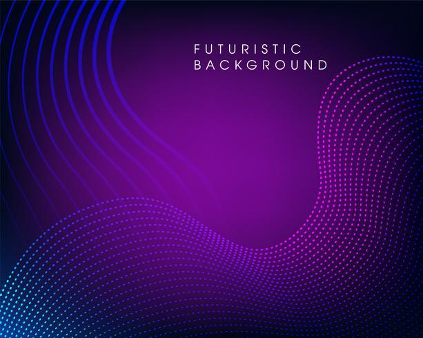 Futuristischer Sciencefiction-Zusammenfassungshintergrund vektor