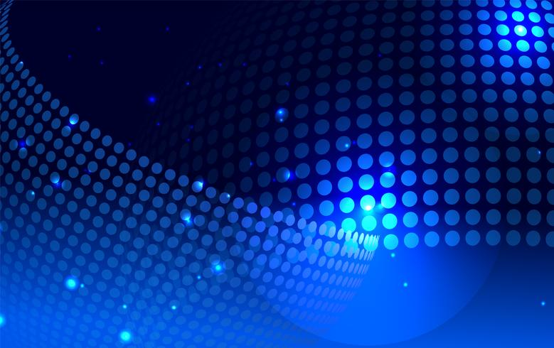 Blauer moderner geometrischer Hintergrund vektor