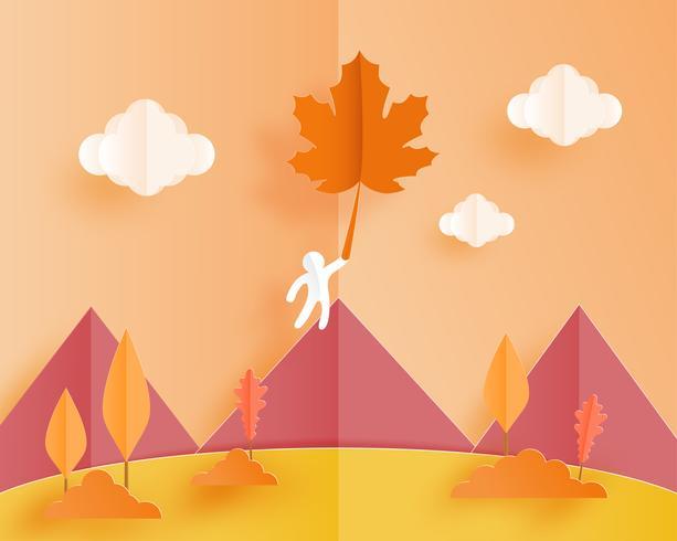 Herbstlandschaft vektor