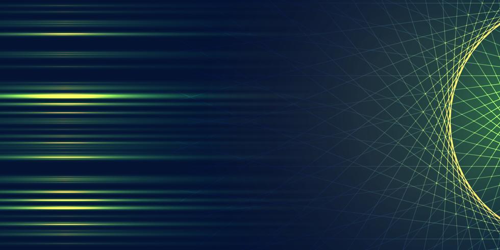 Abstrakt banerdesign vektor