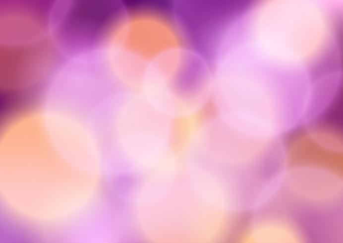 Bokeh beleuchtet Hintergrund vektor