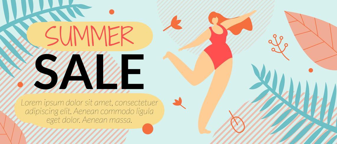 Summer Sale Banner vektor