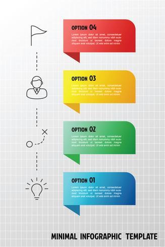 Vertikal infographic mall vektor