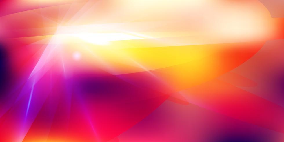 Futuristischer Lichteffekt auf Tonhintergrund der roten Farbe vektor