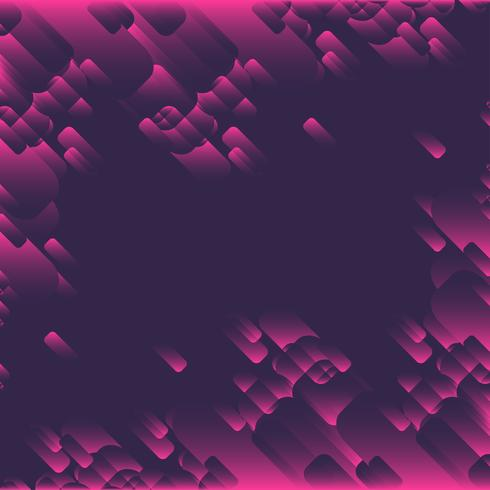Rosa formbakgrund vektor