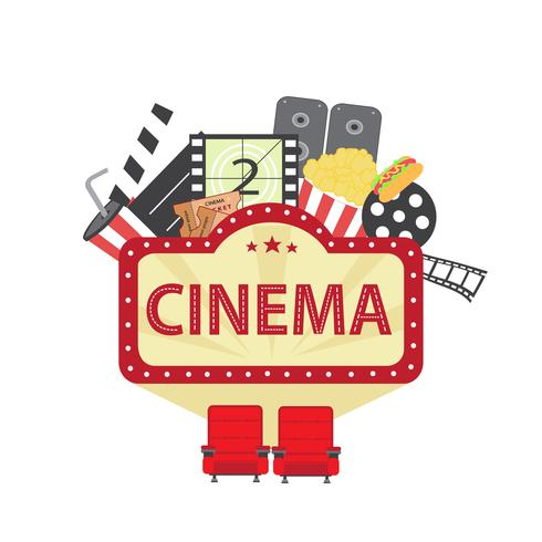 Kino-Elemente vektor