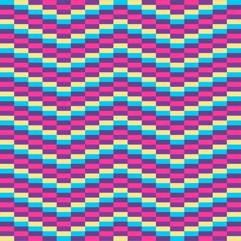 Geometrisk bakgrund för optisk illusion vektor
