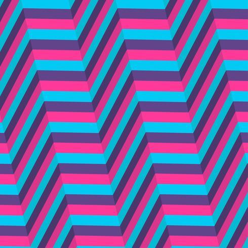 Blå och lila bakgrund för optisk illusion vektor