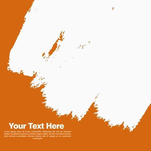 Orange Farbenanschlag-Fahnen-Hintergrund vektor