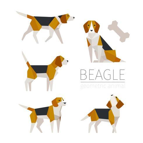 Nettes Spürhundskulpturkonzept-Charakterdesign. vektor