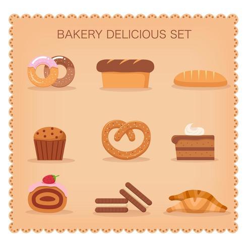 Nettes Bäckereiset vektor