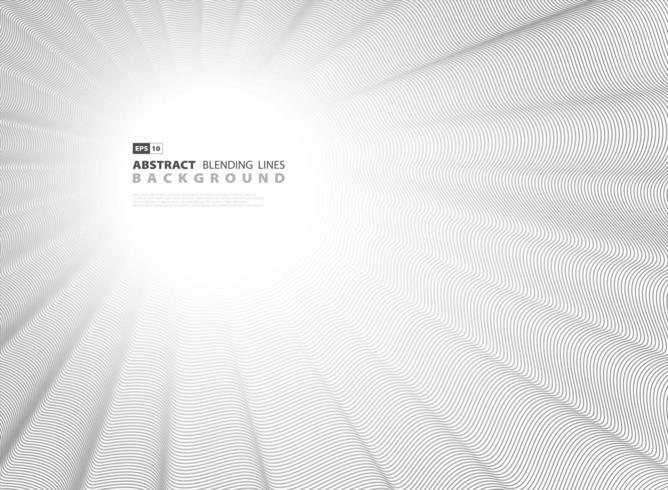 Abstrakt svart blandningslinje Design vektor