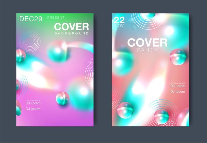 Zusammenfassung Cover-Layout vektor