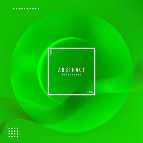 Abstrakter Hintergrund der grünen Leuchte vektor