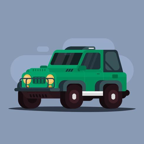 Off-road bil vektor