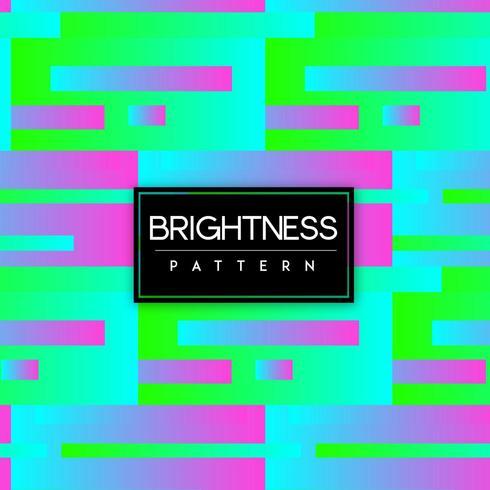 Ljus färgrik form för sömlös bakgrund för neon vektor