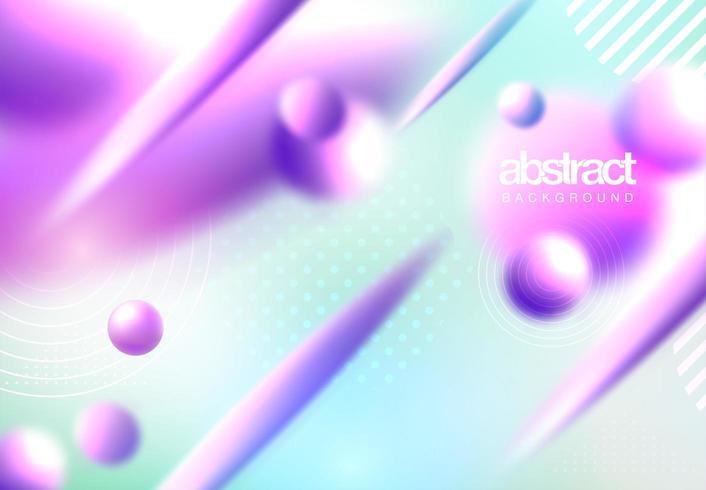 Abstrakt flytande formbakgrund vektor