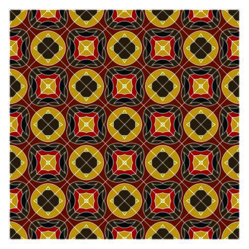 Erde färbt geometrisches nahtloses Muster vektor