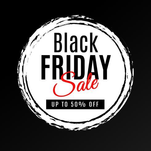 Black Friday Sale bakgrund vektor