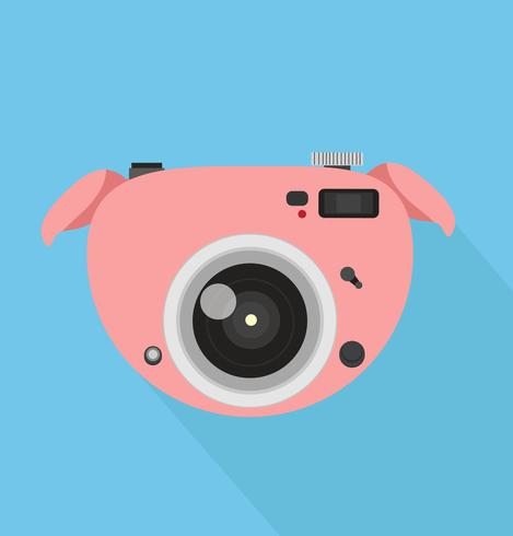 Kamera Schwein vektor