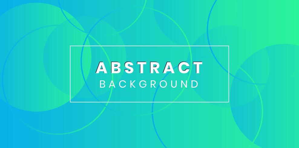 Blå lutning cirkel flytande färgbakgrund vektor