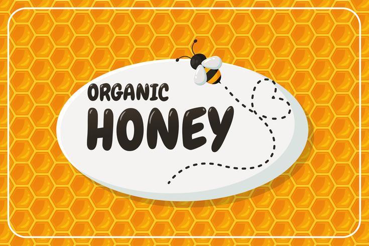 Geometrischer Bienenwabenhintergrundaufkleber vektor