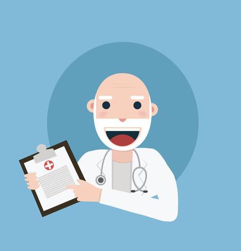 Klinik-Arzt vektor