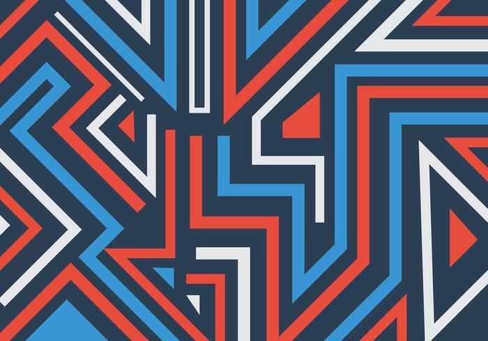 Geometriska former för abstrakt grafitti och linjer mönstrar bakgrund vektor