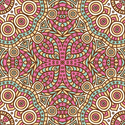 Nahtloses Muster des Stammes- ethnischen Hintergrundes vektor