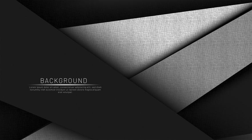 Svart och grå bakgrund vektor