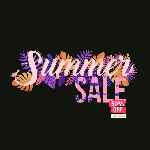 Verkauf Website Banner vektor