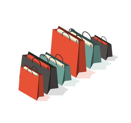 Shoppingväska Kampanj vektor