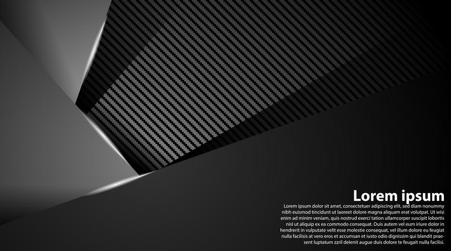 Grauer Technologiekonzept-Zusammenfassungshintergrund vektor