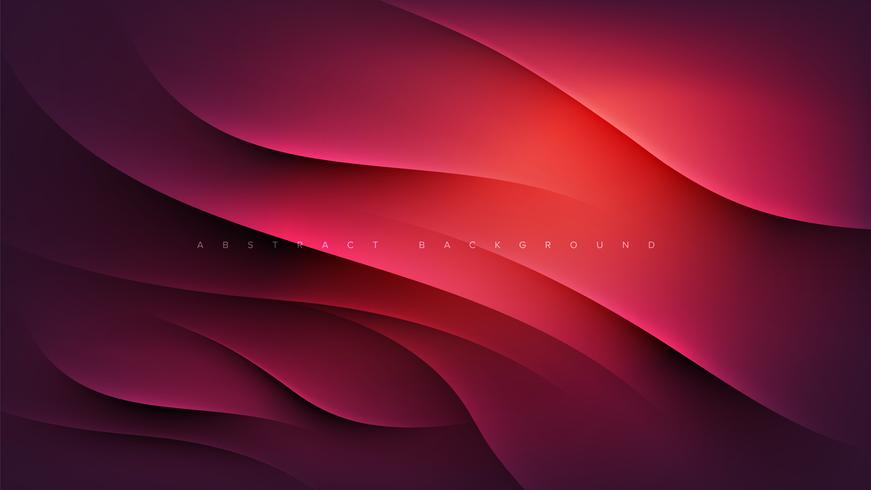 Rosa abstrakte Landing Page vektor