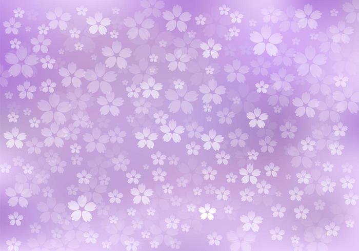 Lila blommig bakgrund vektor