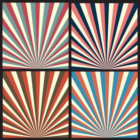 Abstrakt modern vintage bakgrundssamling vektor