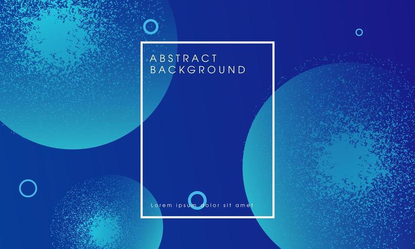 Blauer abstrakter glühender Partikeldesignhintergrund vektor