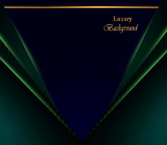 abstrakt lyxig bakgrund med blått mörkt överlappningslager vektor