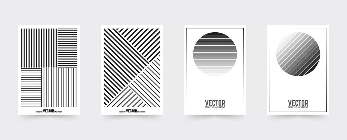 Vit broschyromslagsmall vektor
