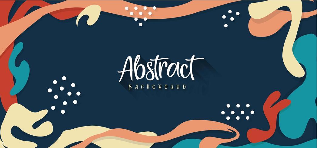Moderner abstrakter Hintergrund vektor