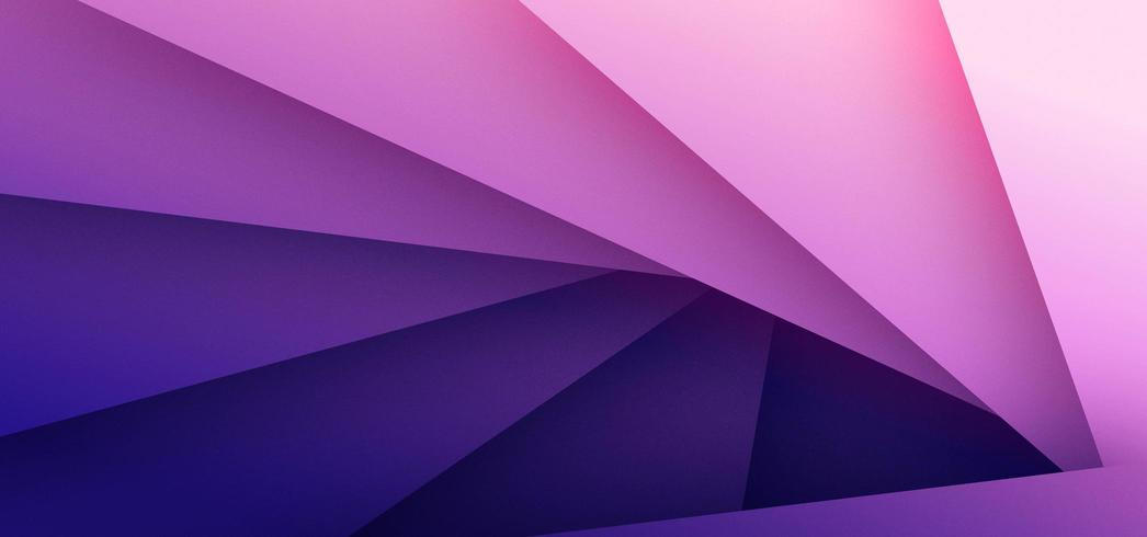 Abstrakt bakgrund för rosa och lila triangel vektor