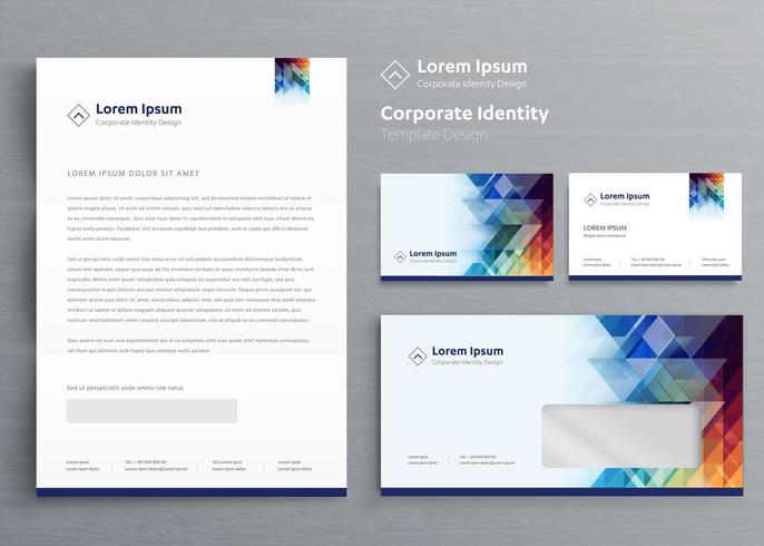 Corporate Business Identity-Vorlage vektor