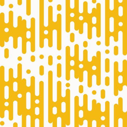Abstrakt guldgul rundad randlinje mönster vektor