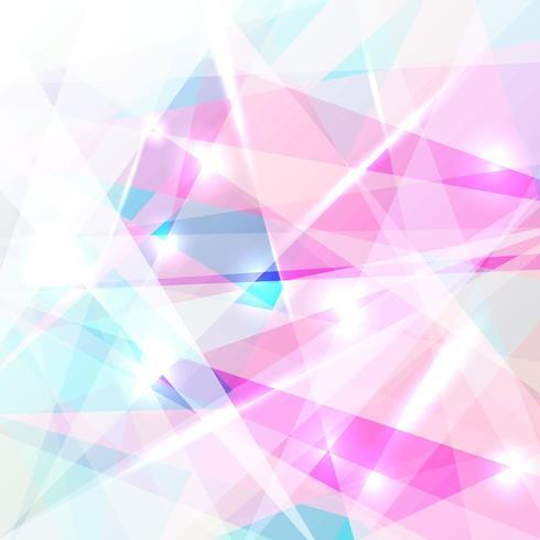 Abstrakter geometrischer bunter niedriger Polygonhintergrund vektor