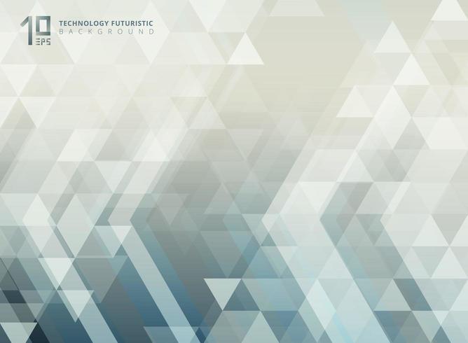 Futuristisches Pfeil- und Dreieckmuster der abstrakten Technologie vektor