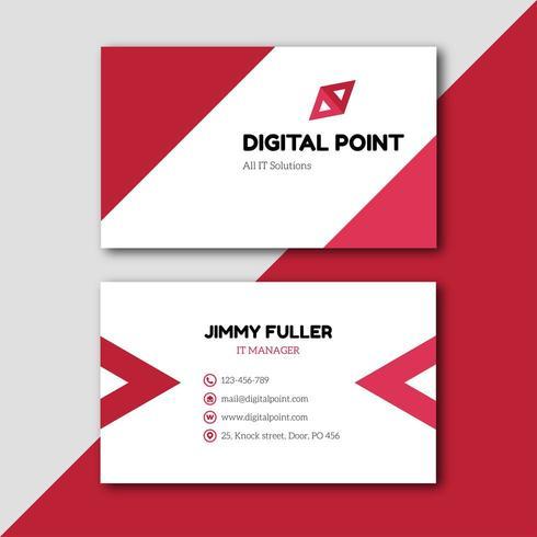 Business Visitenkarten Design Download In 1