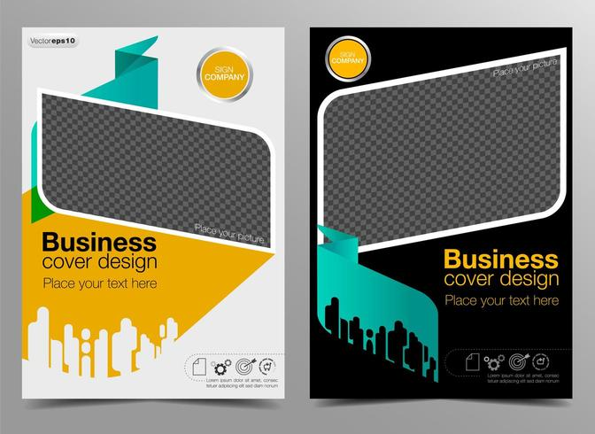 Business-Cover-Design vektor