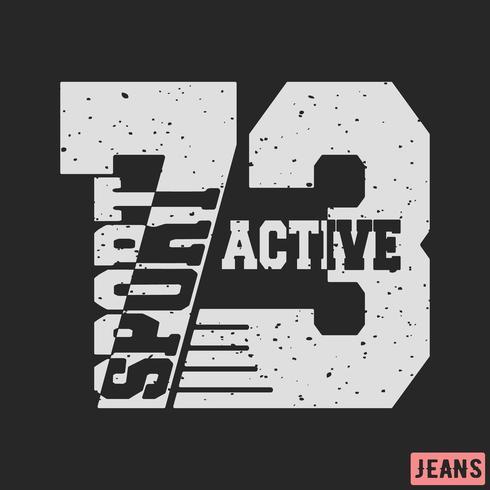 T-shirt design vektor