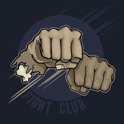 Fight Club. Handstans vektor